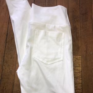Agnes and Dora white, size Large Stetch pants